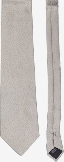 PIERRE CARDIN Seiden-Krawatte in One Size in hellgrau, Produktansicht