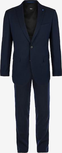 s.Oliver BLACK LABEL Anzug in dunkelblau, Produktansicht
