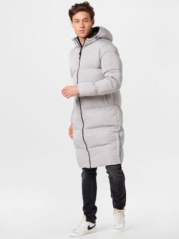 Superdry Mantel in Grau