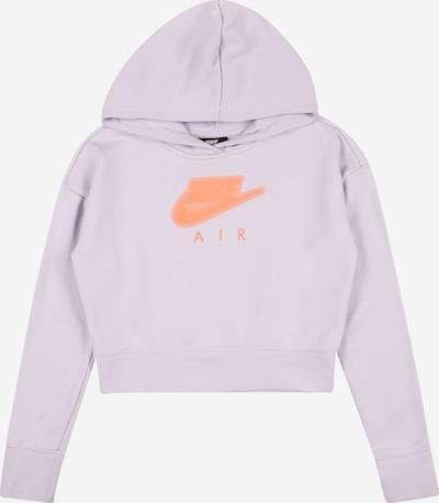 Nike Sportswear Sweatshirt in flieder / koralle, Produktansicht