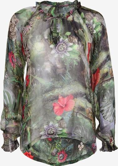 PRINCESS GOES HOLLYWOOD Bluse Dschungel in mischfarben: Frontalansicht