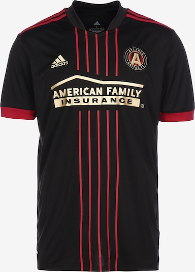 ADIDAS PERFORMANCE Trikot 'Atlanta United FC Home 2021' in gold / dunkelrot / schwarz, Produktansicht