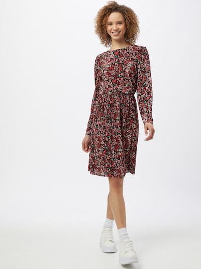 ONLY Kleid in grün / rosa / rot / schwarz, Modelansicht