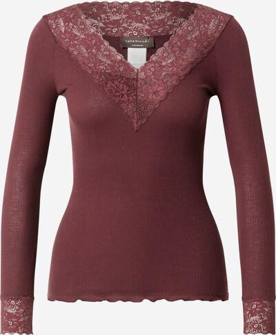 Tricou rosemunde pe roșu merlot, Vizualizare produs