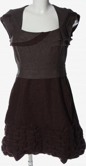 Adolfo Dominguez Kurzarmkleid in XL in braun / hellgrau, Produktansicht