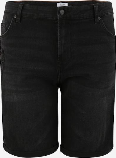 Jeans 'PLY' Only & Sons Big & Tall pe negru denim, Vizualizare produs