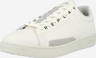 REPLAY Sneaker in hellgrau / schwarz / weiß, Produktansicht