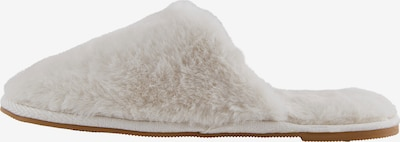 PIECES Slippers 'Bitten' in White, Item view