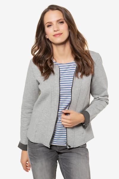 Gina Laura Blazer in grau, Modelansicht