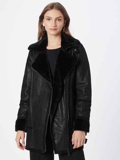 FREAKY NATION Χειμερινό παλτό 'Icy Wind' σε μαύρο, Άποψη μοντέλου