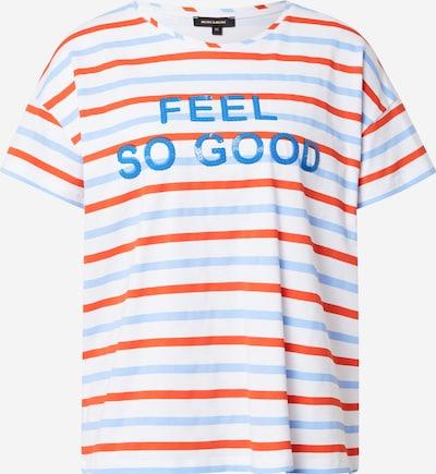 Tricou MORE & MORE pe opal / albastru regal / roșu / alb, Vizualizare produs