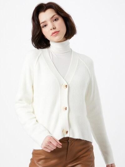 OPUS Kardigan 'Disona' u bijela, Prikaz modela