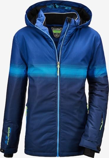 KILLTEC Sport-Jacke 'Glenshee' in blau, Produktansicht