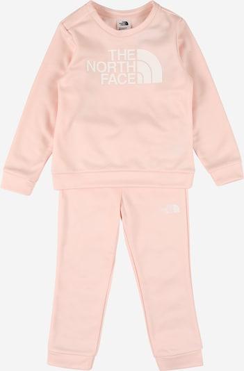 THE NORTH FACE Sportanzug in rosa / weiß, Produktansicht