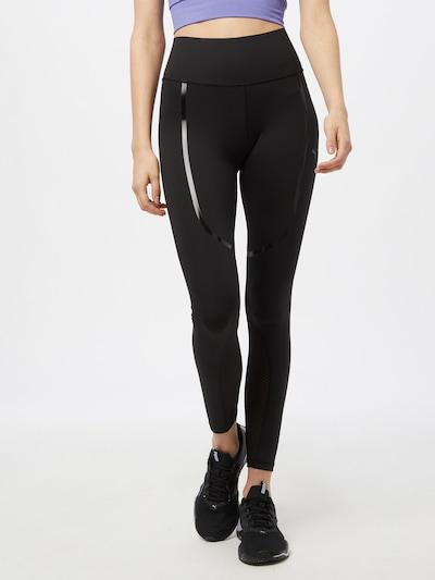 PUMA Sporta bikses, krāsa - melns: Priekšējais skats