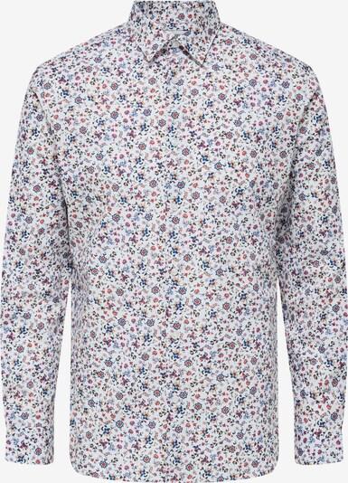 SELECTED HOMME Hemd 'Willow' in mischfarben / weiß, Produktansicht