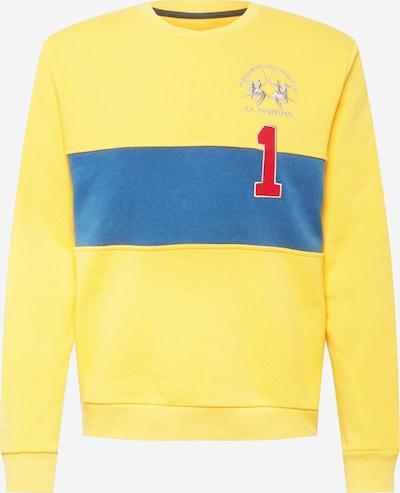 La Martina Sweatshirt in himmelblau / limone, Produktansicht