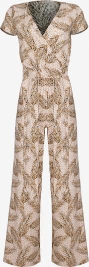 Figl Jumpsuit in beige / gold / schwarz, Produktansicht