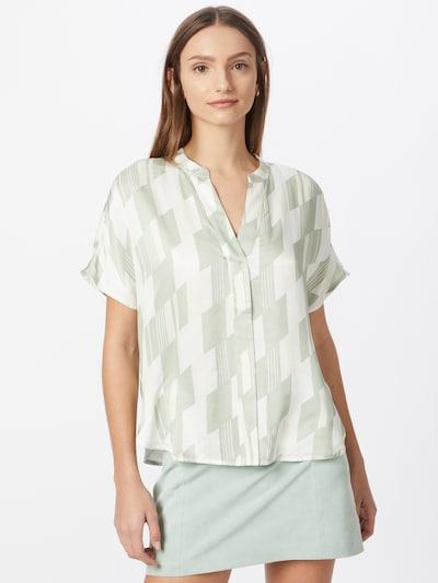 Someday Bluse 'Zeomi' in mint / weiß, Modelansicht