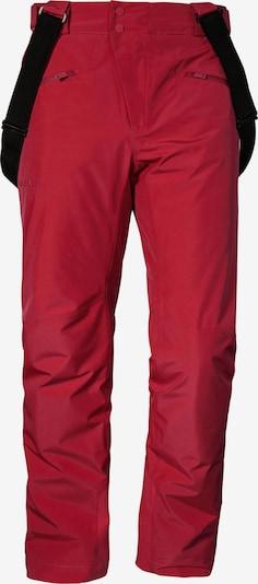 Schöffel Skihose 'Lachaux' in rot, Produktansicht