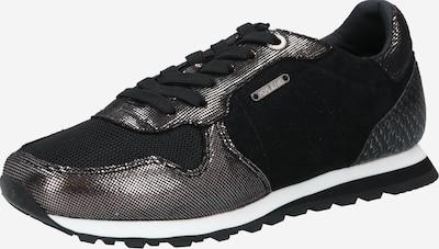 Pepe Jeans Zemie brīvā laika apavi 'VERONA' melns / Sudrabs, Preces skats