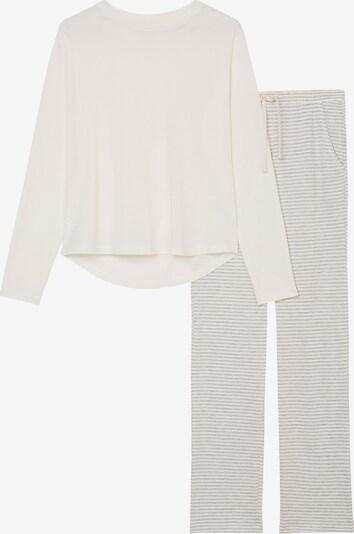 Marc O'Polo Pyjama in offwhite, Produktansicht