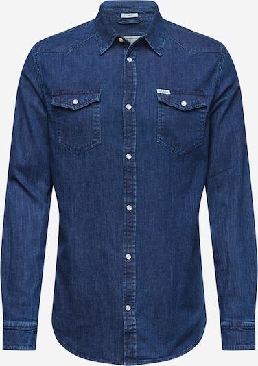 GUESS Hemd in blue denim, Produktansicht