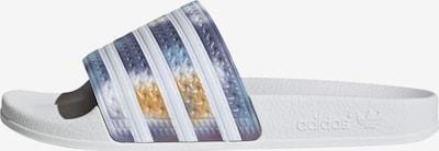 ADIDAS ORIGINALS Pantolette 'Adilette ' in blau / mischfarben, Produktansicht