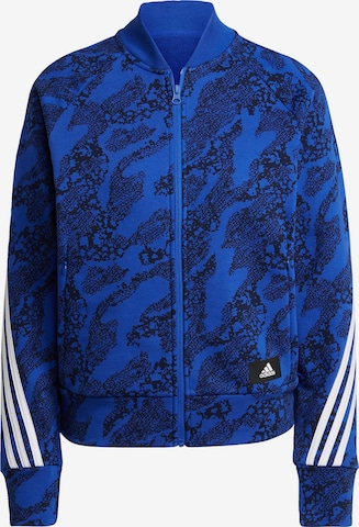 ADIDAS PERFORMANCE Athletic Jacket in Blue