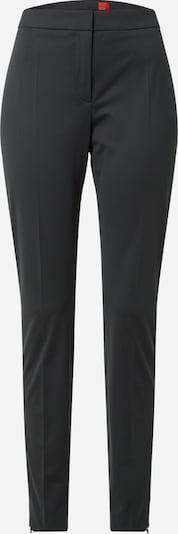 HUGO Bukser med fals 'Harula' i sort, Produktvisning