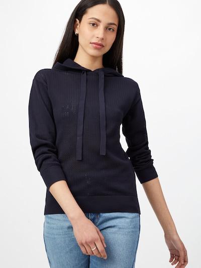 BOSS Casual Pullover 'Feddi' i natblå, Modelvisning