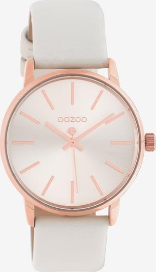 OOZOO Quarzuhr in rosegold / weiß, Produktansicht