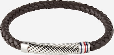 TOMMY HILFIGER Bracelet in navy / brown / red / silver / white, Item view