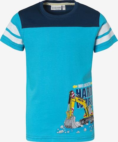 SALT AND PEPPER T-Shirt in aqua, Produktansicht
