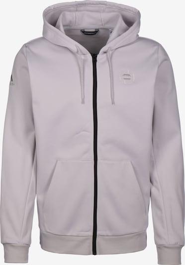 ADIDAS PERFORMANCE Funktionele fleece-jas 'Harden' in de kleur Lichtgrijs, Productweergave