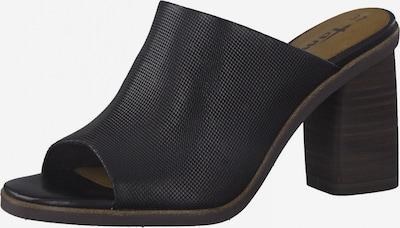 TAMARIS Zapatos abiertos en negro, Vista del producto