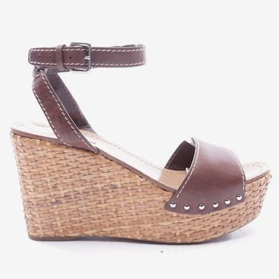 PRADA Sandals & High-Heeled Sandals in 39,5 in Brown, Item view