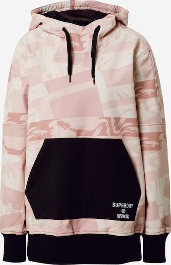 Superdry Veste de sport en rose / noir, Vue avec produit