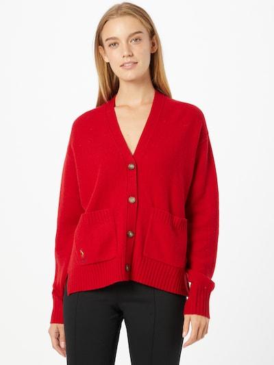Polo Ralph Lauren Strickjacke in rot, Modelansicht