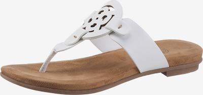 bugatti Sandale in weiß, Produktansicht