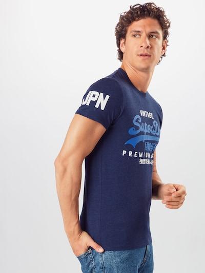 Superdry Majica u tamno plava: Prednji pogled