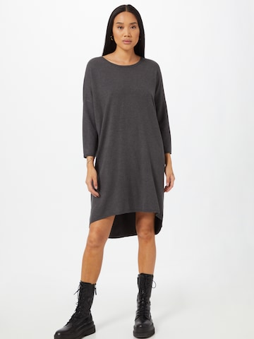 MOSS COPENHAGEN Knitted dress 'Rachelle' in Black