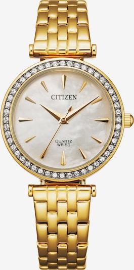 CITIZEN Uhr in gold, Produktansicht