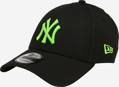 NEW ERA Casquette en vert fluo / noir, Vue avec produit