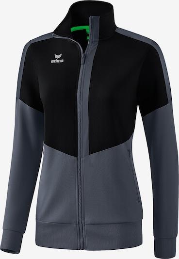 ERIMA Athletic Jacket in Grey / Black, Item view