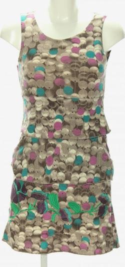 Smash! Minikleid in S in braun / lila / wollweiß, Produktansicht