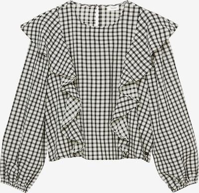 Marc O'Polo DENIM Bluse in schwarz / weiß, Produktansicht