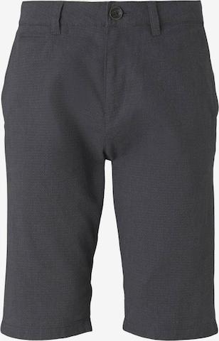 TOM TAILOR Chino-Shorts in Grau
