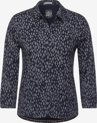 CECIL Shirt in Beige / Dark blue, Item view