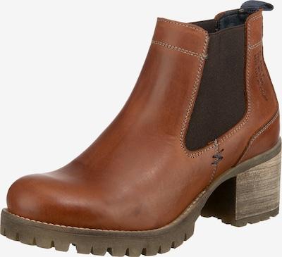 JOLANA & FENENA Chelsea Boots in cognac, Produktansicht